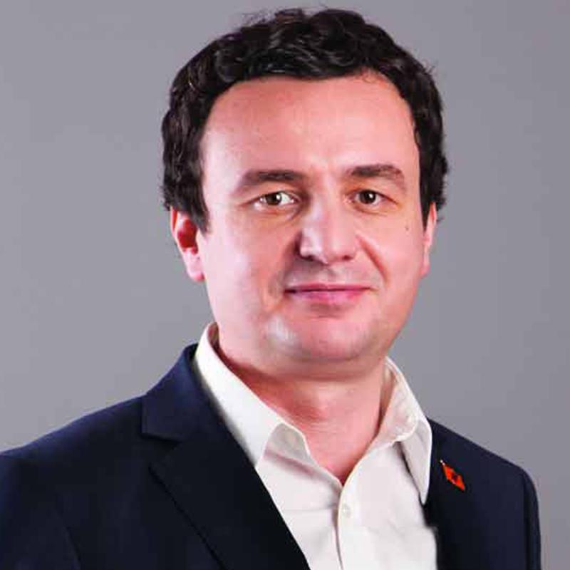 3. Albin Kurti